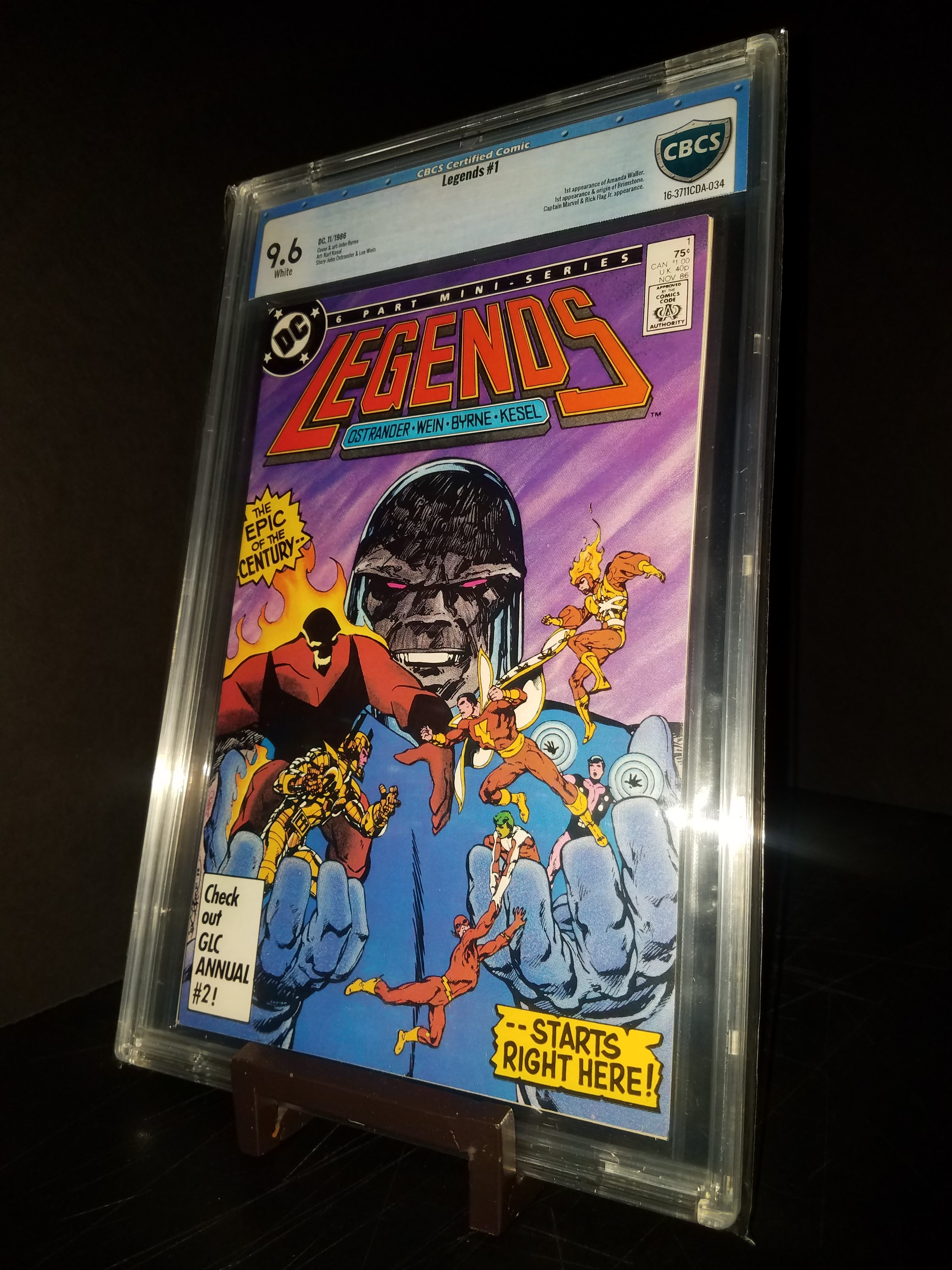 Legends # 1 CBCS 9.6 WP 1st Amanda Walker