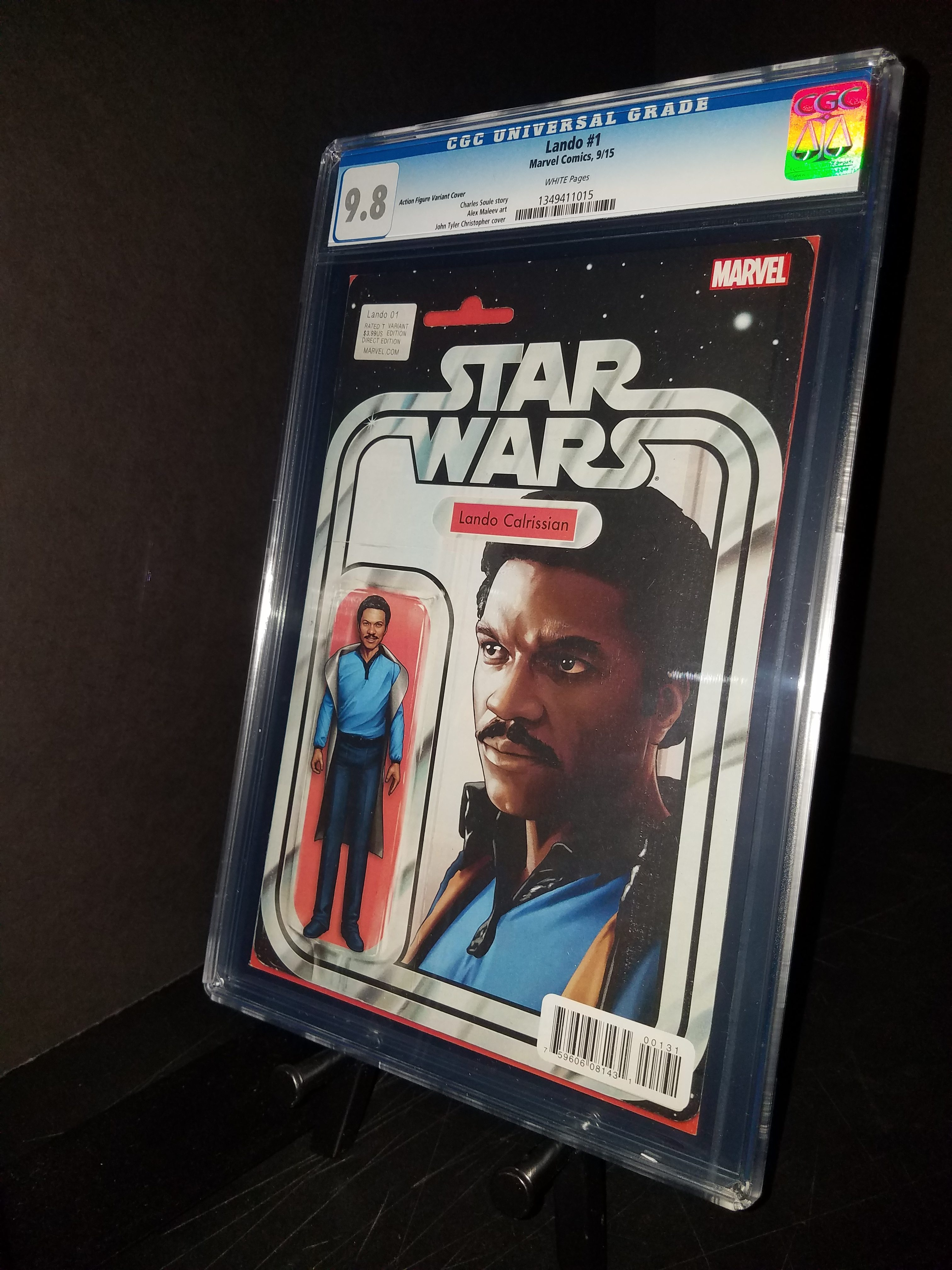 Lando # 1 CGC 9.8 WP Action Figure Variant JTC