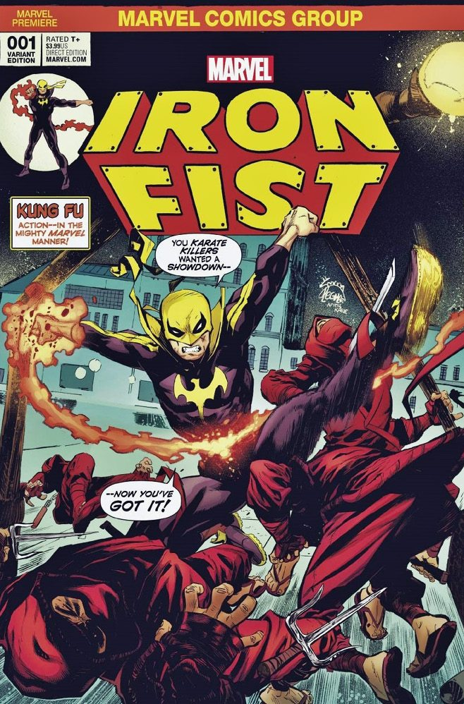 Iron Fist # 1 Cover A