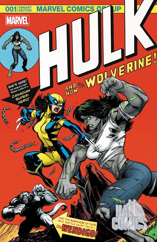 Hulk # 1 Variant