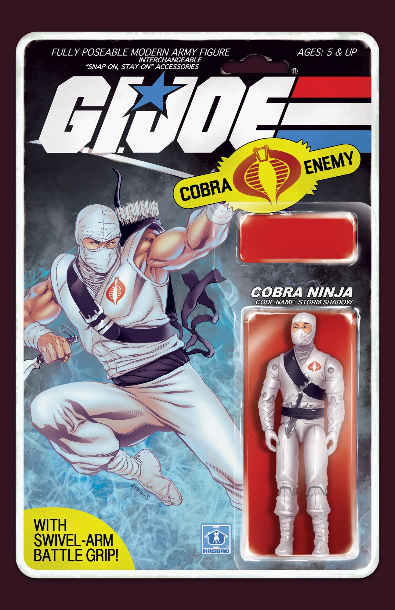 GI Joe: Real American Hero #217 Action Figure Cover