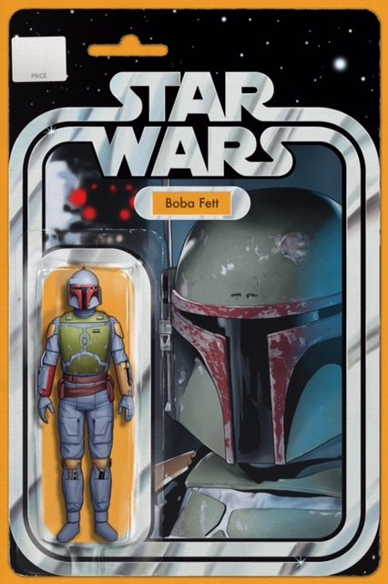 Star Wars # 4 Boba Fett Action Figure Variant
