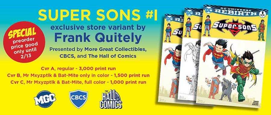 Super Sons #1 Variant