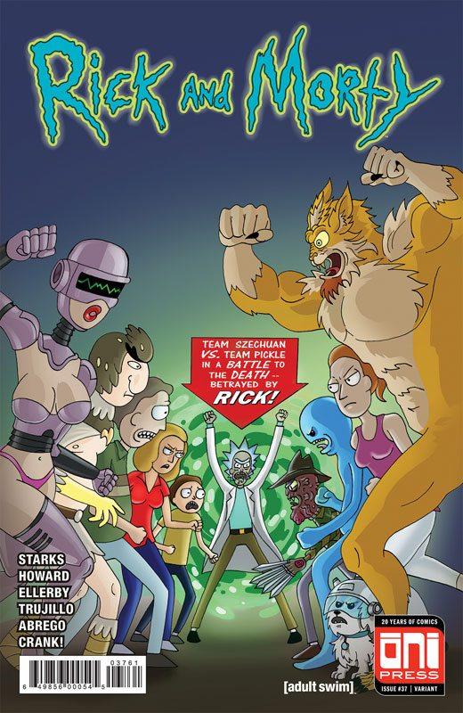 Rick & Morty #37 Team Szechuan vs. Team Pickle