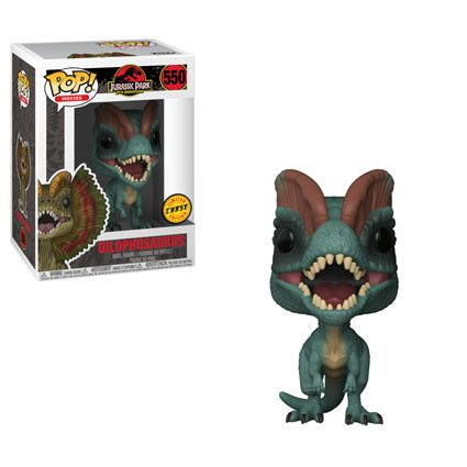 Dilophosaurus #550 (Frill tucked down) Chase