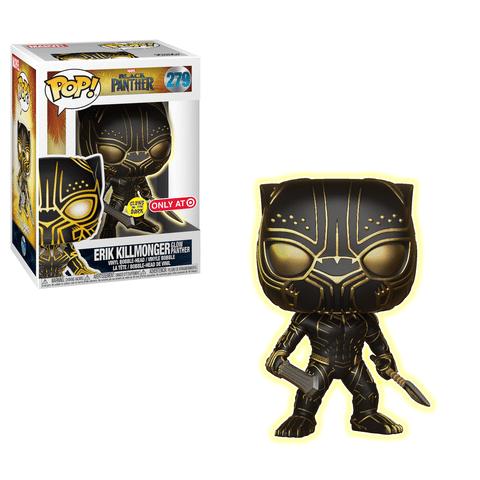 Erik Killmonger #279 (Glow Panther) Target Excl.