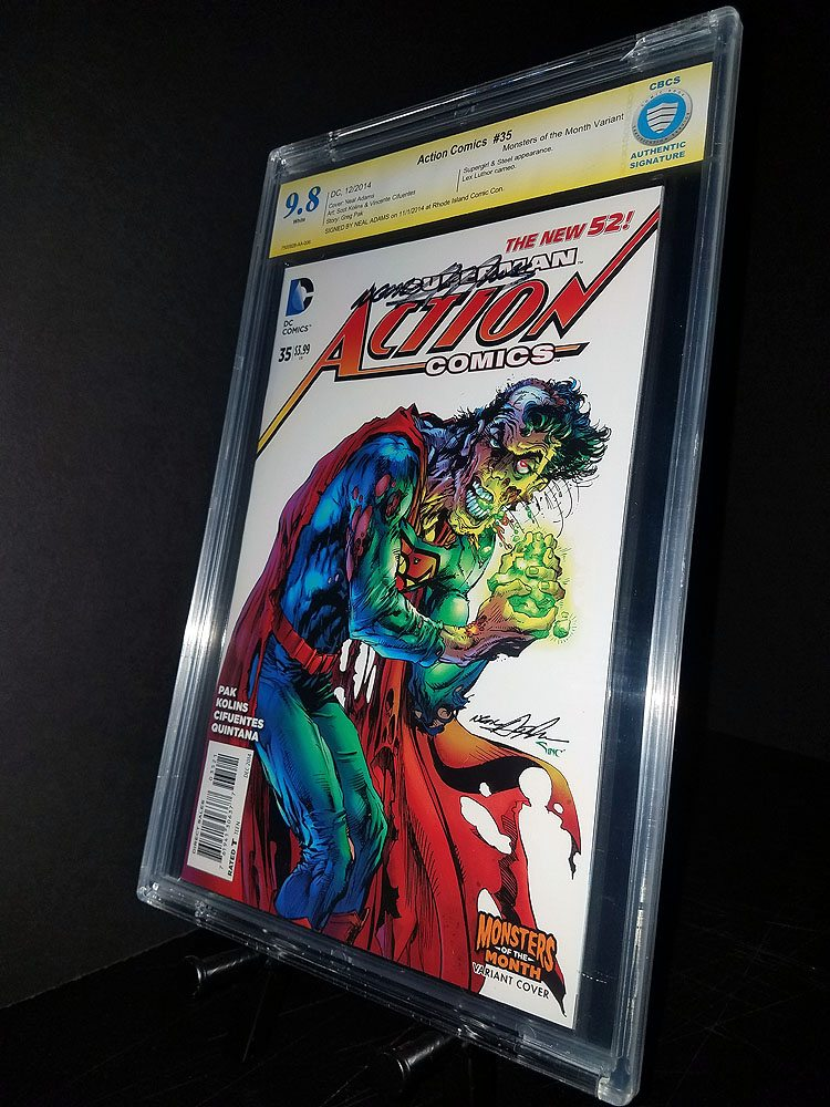 Action Comics #35  CBCS 9.8 Signature Series Neil Adams