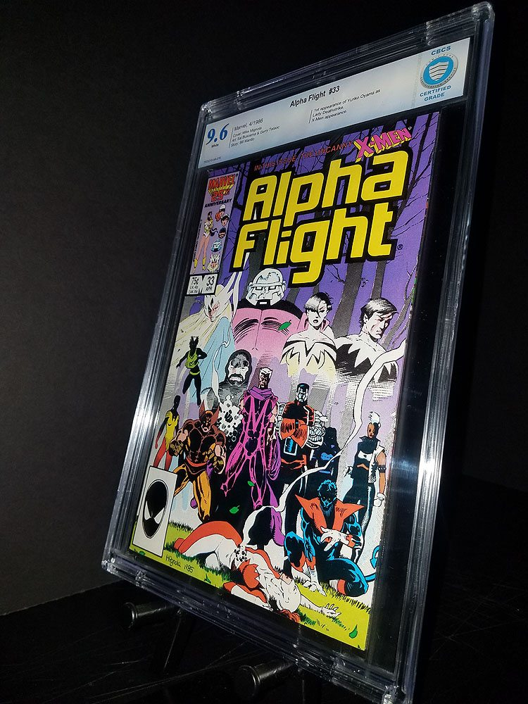 Alpha Flight #33 CBCS 9.6 WP 1st Lady Deathstrike