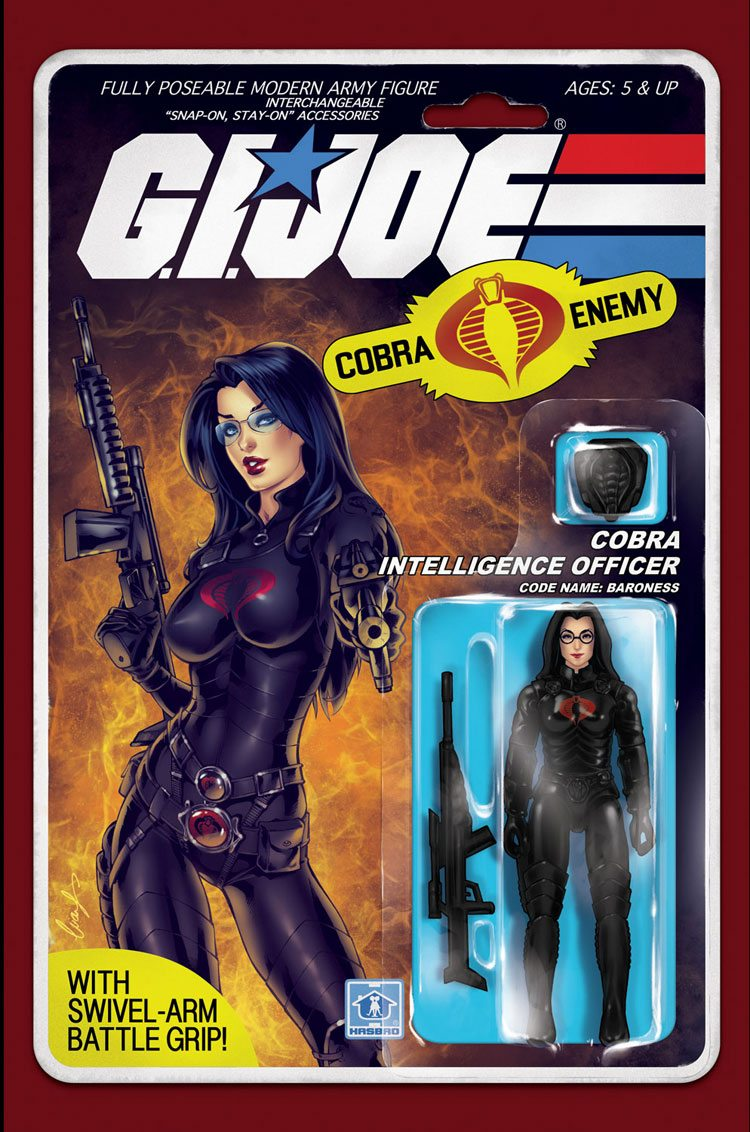 GI Joe: Real American Hero #216 Action Figure Cover