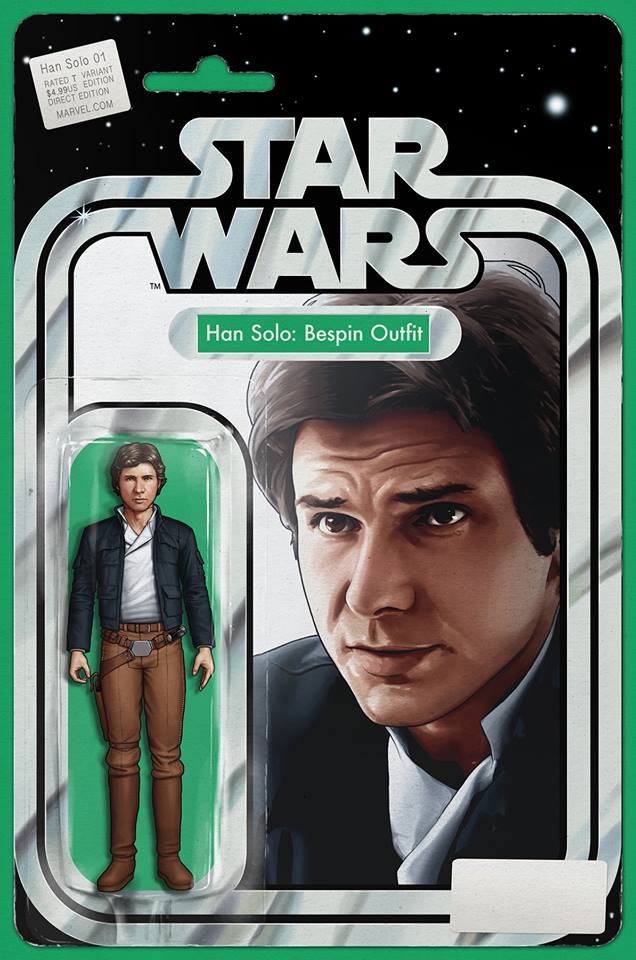 Han Solo # 1 Bespin Outfit Action Figure Variant