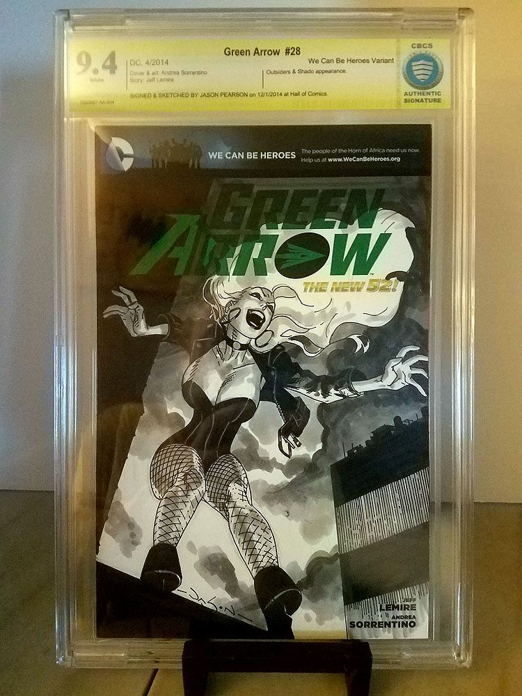 Green Arrow #28 Black Canary Jason Pearson