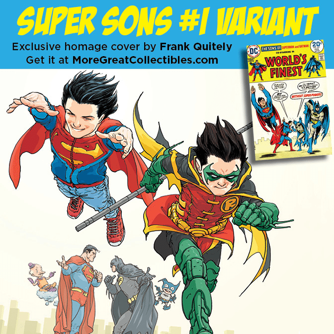 Super Sons # 1 Cover Set