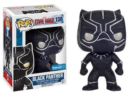 Black Panther #130 (Civil War) (Onyx Glitter) Walmart Excl.