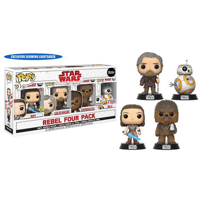 Rebel Four Pack (The Last Jedi) Costco Excl.