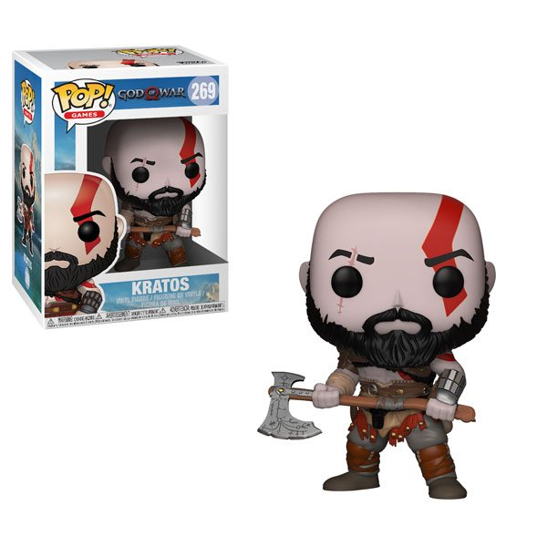 Kratos #269 (Axe) Gamestop Excl.