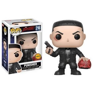 Punisher #216  (Daredevil) (Holding Mask) Chase