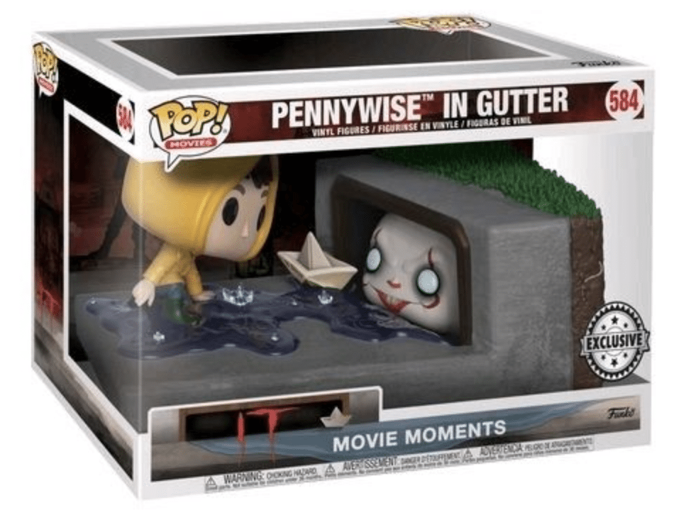 Pennywise in Gutter #544 IT Hot Topic Excl.