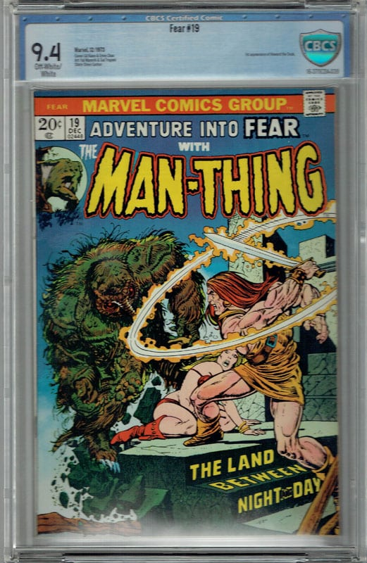 Fear #19 CBCS 9.4 OW/WP 1st Howard the Duck